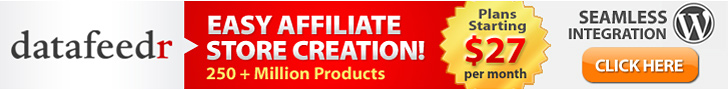 build online affiliate store with datafeedr